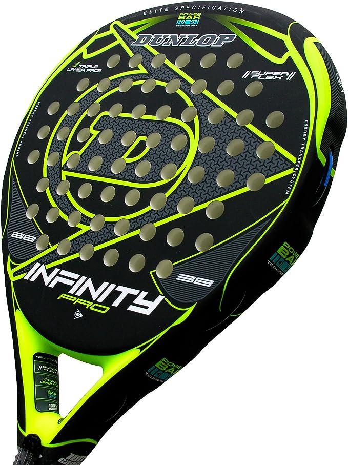 Pala de pádel Dunlop Infinity Pro Yellow: Amazon.es: Deportes y ...
