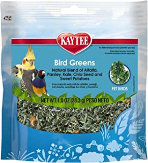 product image for Kaytee Products C 529082 All Birds Chia/Sweet Pota Foraging Treat Bird Greens, 1 oz