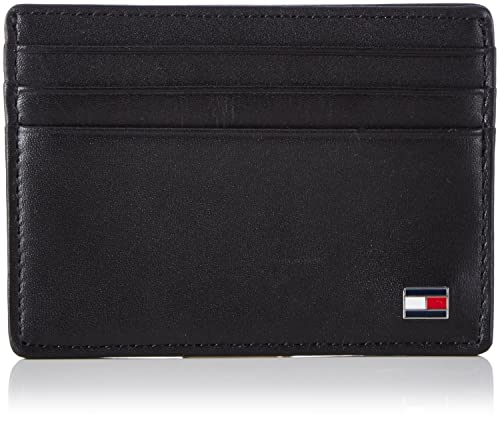 Tommy Hilfiger Eton CC Holder - Cartera para Hombre, Black 2, Talla Unica: Amazon.es: Equipaje