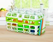 Munchkin High Capacity Dishwasher Basket, Colors May Vary