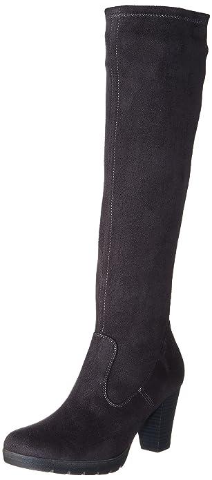 Grigio shoes Inverno Amazon 25503 Caprice htQCdsr