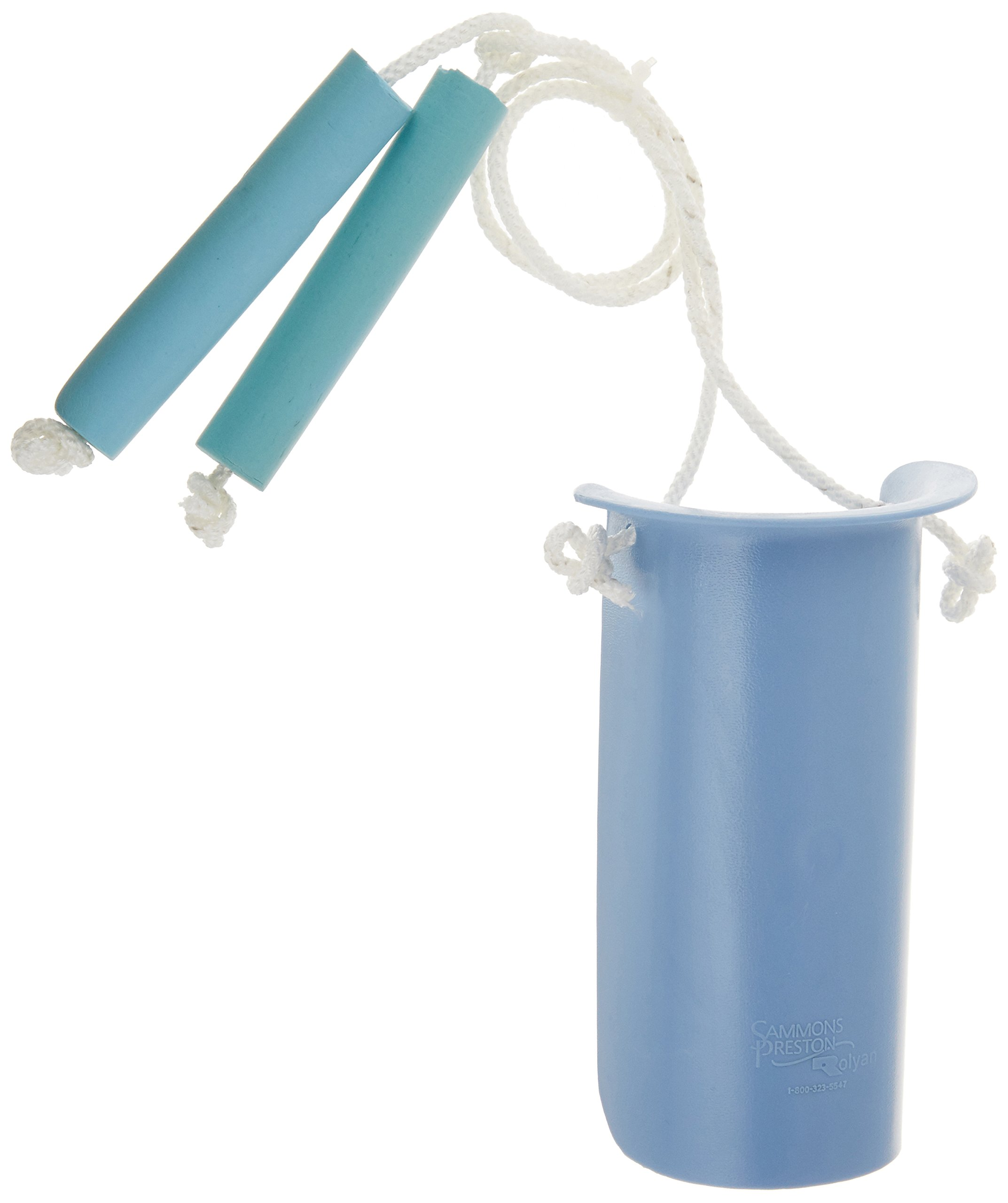Sammons Preston Sock and Stocking Aid with Built-Up Foam Handles, Pediatric Size Easy On Easy Off Aide with 19'' Rope & Foam Grip, Sock Pull On Assist, Children Size by Sammons Preston