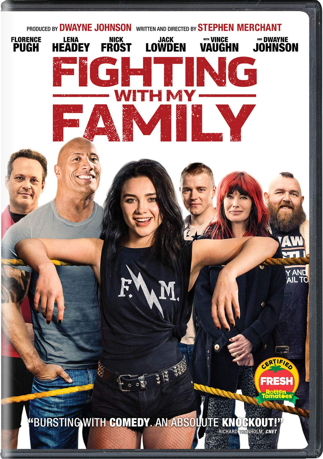 Fighting with my family paige