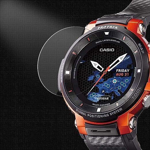 Topace - Protector de pantalla para reloj inteligente Casio ...
