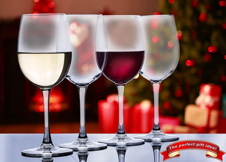 100/% Tritan Plastic Wine Glasses Elegant Unbreakable Wine Glasses by Savona Ideal for Indoor//Outdoor Use Set of 2 Shatterproof Wine Glasses
