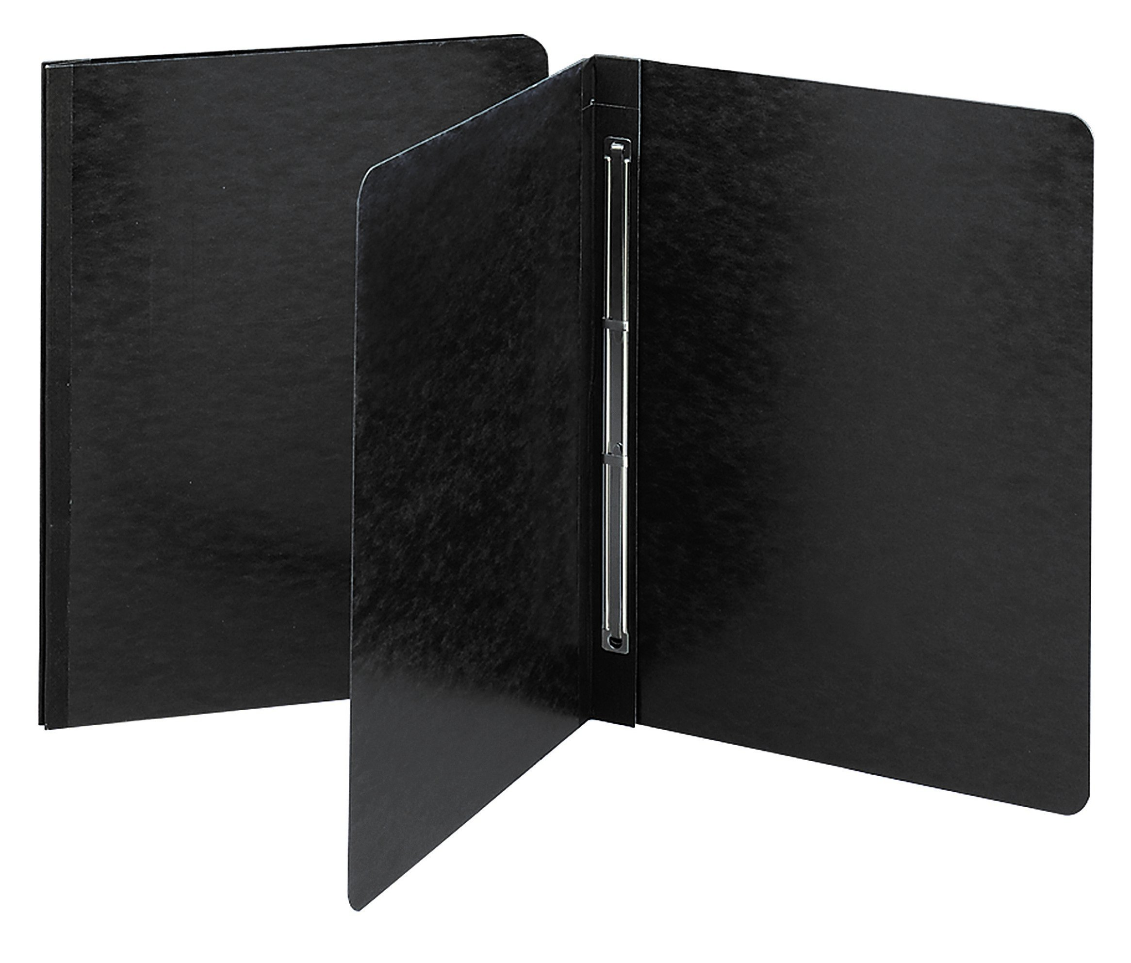 Smead PressGuard Report Cover with Side Fastener, 3'' Capacity, Letter Size, Black (81152)