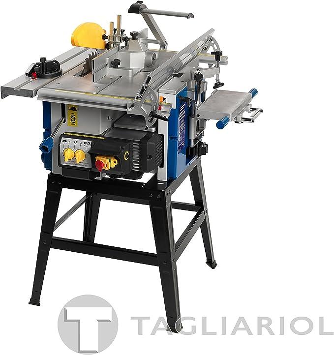 Fox F60-150 - Máquina combinada para madera 6 funciones.: Amazon ...