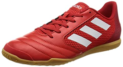 pretty nice 8eb15 87dea adidas Ace 17.4 Sala, Chaussures de Football Homme, Rouge (Red   Ftwr White