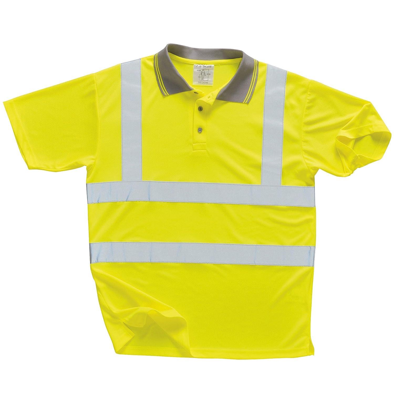 Portwest - Polo/Camiseta/Camisa de Seguridad de Alta Visibilidad ...
