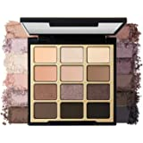 Milani Soft & Sultry Eyeshadow Palette (0.48 Ounce) 12 Cruelty-Free Smoky Matte & Metallic Eyeshadow Colors for Long-Lasting