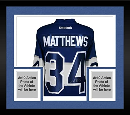 factory authentic 85840 ee15e Auston Matthews Toronto Maple Leafs Autographed 2017 ...