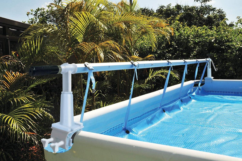 Poolomio Aufrollvorrichtung für Aufstellpools Pool-Aufroller für Solarplanen poolomio.de