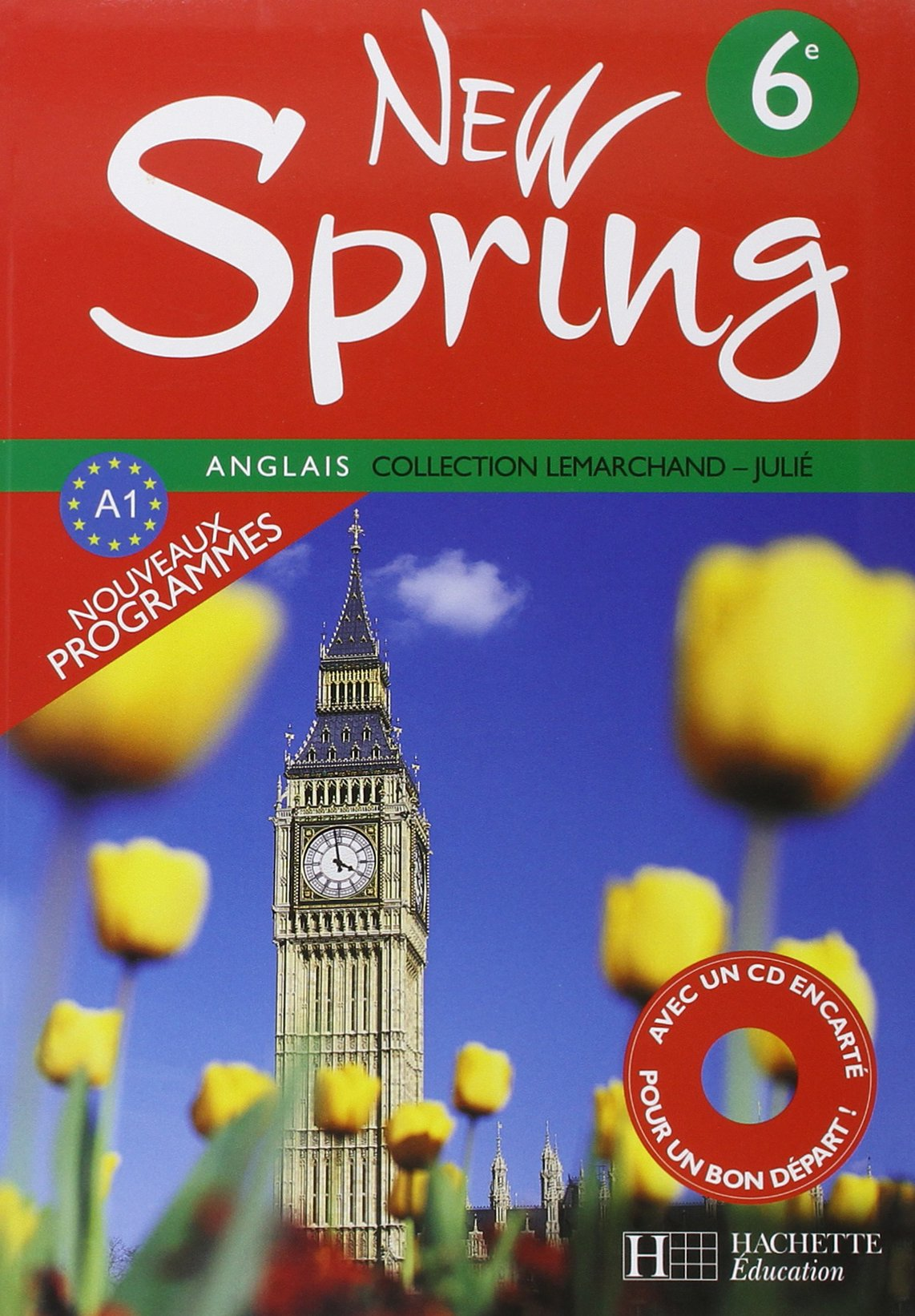 Amazon Fr Anglais 6e New Spring 1cd Audio Francois