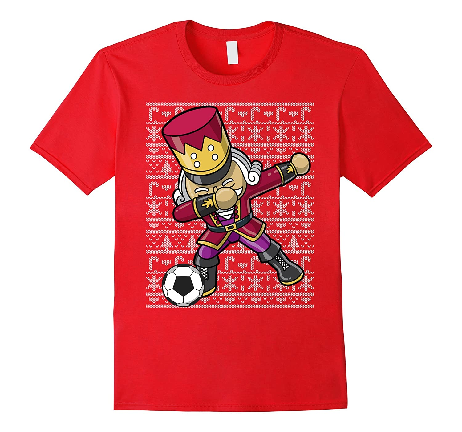 Dabbing Nutcracker Soccer Dab Shirt-RT