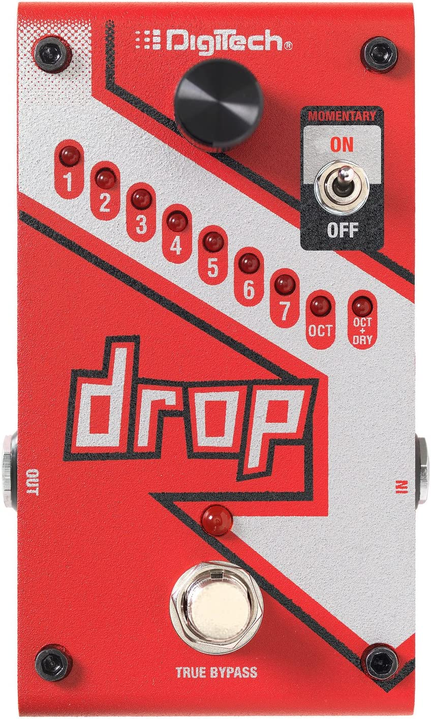 DigiTech Drop Polyphonic Drop Tune/PitchShift Pedal