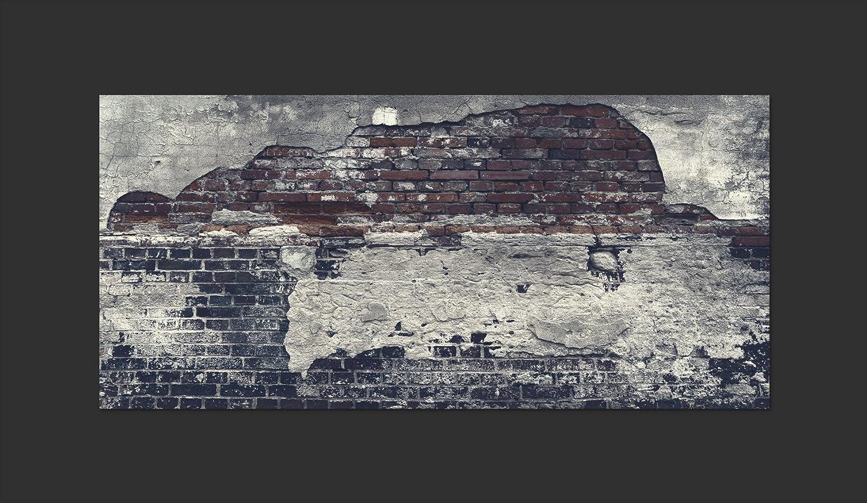 murando Fototapete selbstklebend 490x280 cm decor Tapeten Wandtapete klebend Klebefolie Dekofolie Tapetenfolie Ziegel Ziegelstein f-A-0503-x-d
