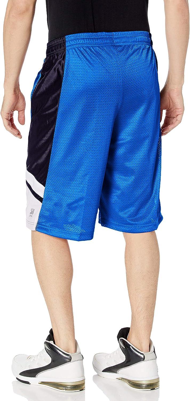 Southpole Men's Big and Tall Basic Basketball Mesh Shorts: Clothing