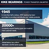XiKe 10 Pcs 6205-2RS Double Rubber Seal Bearings