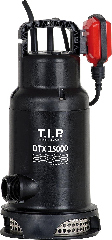 30257 Bomba sumergible continua de agua sucia DTX 15000 T.I.P hasta 15,000 l h de entrega