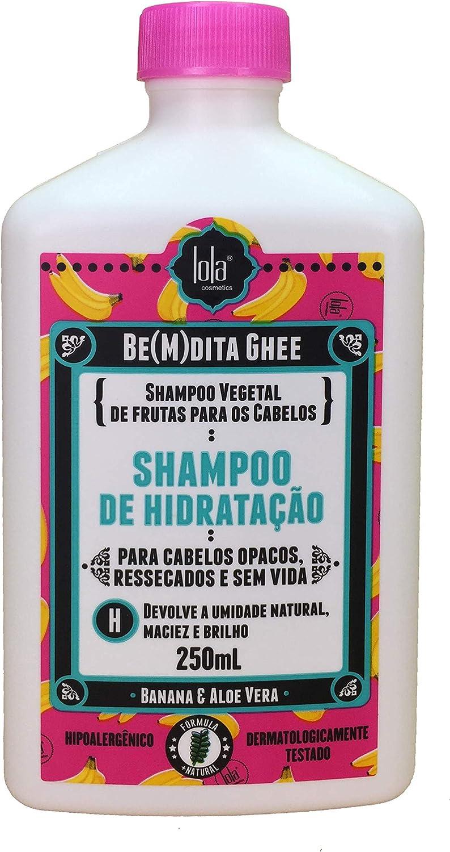 Xampu ghee de hidratação, da Lola Cosmetics