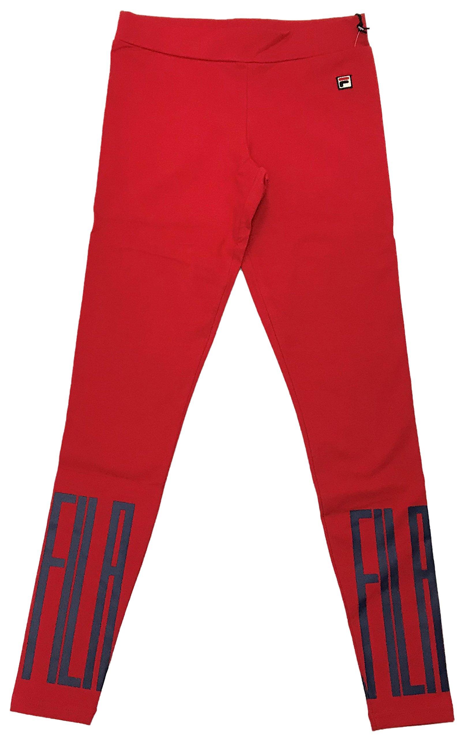 Fila Mariella Leggings (Chinese Red-Peacoat, XL)