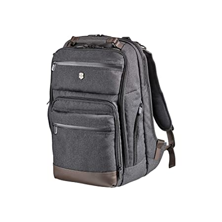 Victorinox Architecture Urban Rath Laptop Backpack Grey Brown One Size