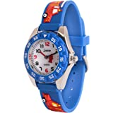 Wolfteeth Boys My First Outdoors Watch Time Teacher Sport Watch with Plastic Bezel 3082
