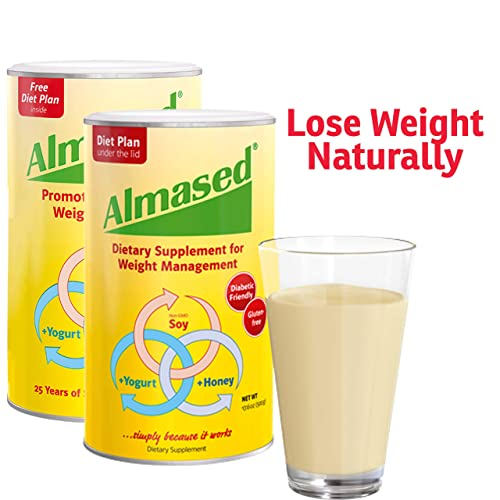 Almased Meal Replacement Shake – Plant Based Protein Powder – Shake for Weight Management