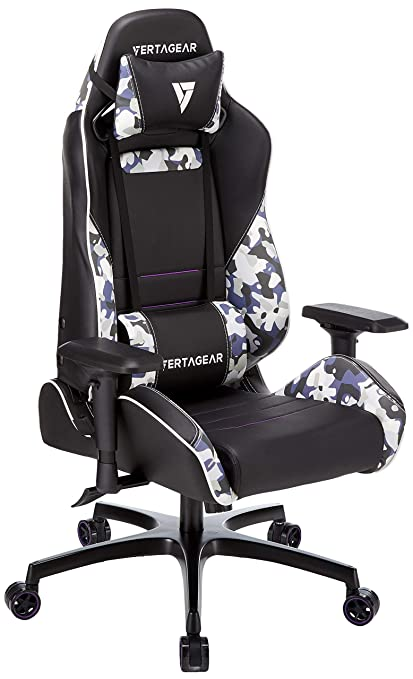 Astounding Vertagear Sl5000 Cm Gaming Chair Black Camo Machost Co Dining Chair Design Ideas Machostcouk