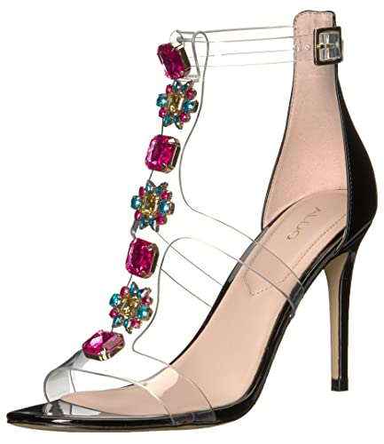 88af430a3c8 ALDO Women s MONTESEGALE Heeled Sandal Black Multi 10 ...