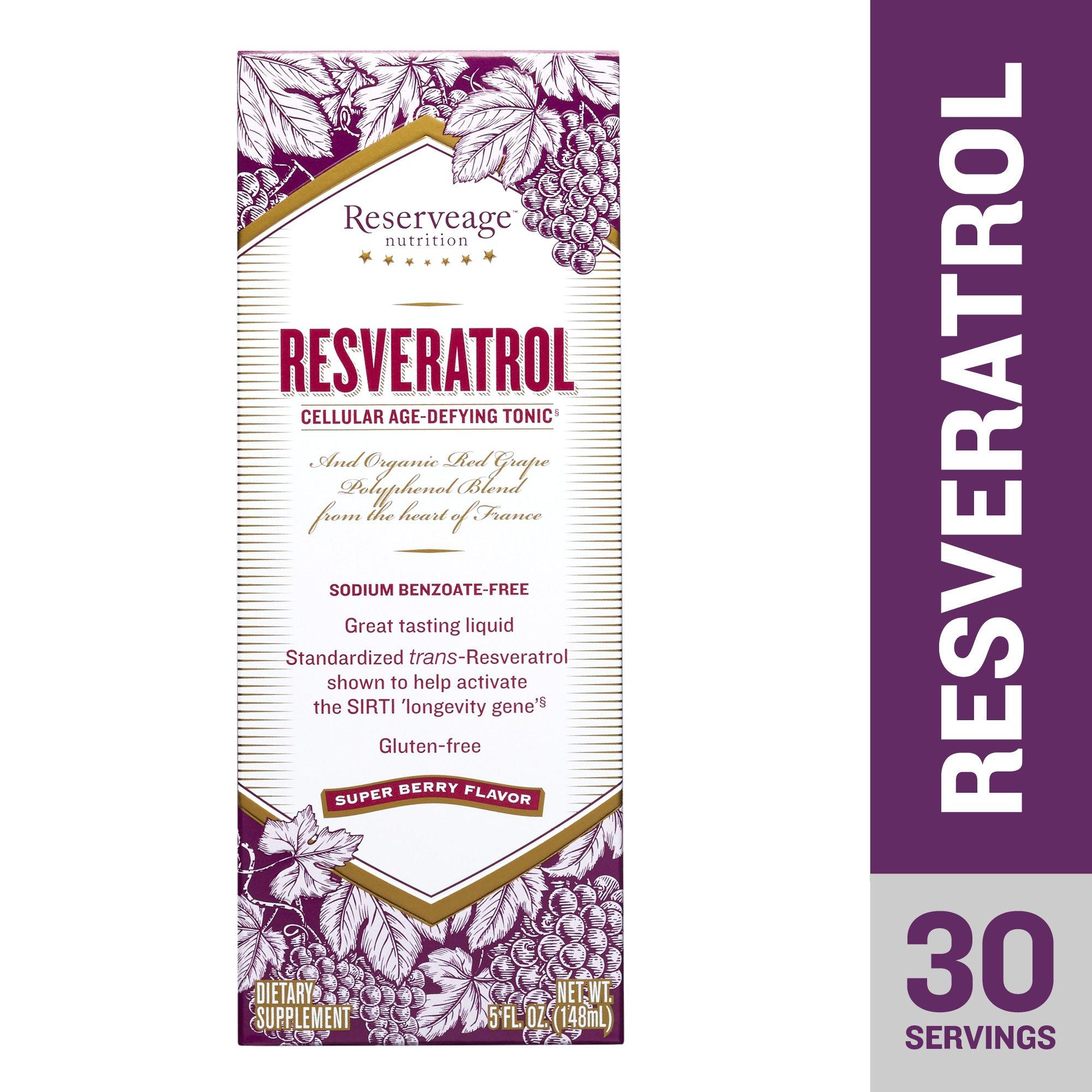 Reserveage - Resveratrol Cellular Age Defying Tonic