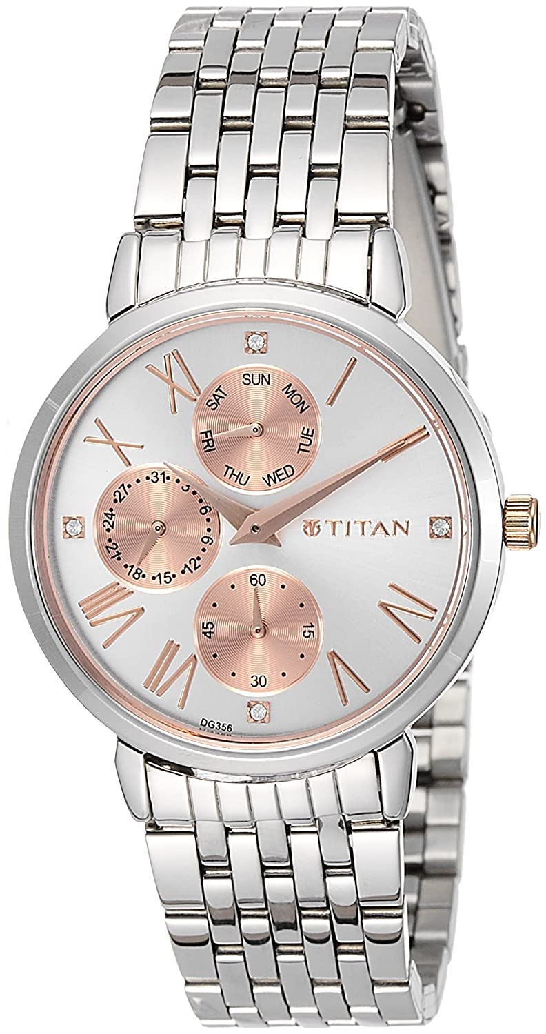 Buy Titan Ladies Neo Ii Analog Rose Gold Dial Womens Watch Casio Ltp 1378l 2e Women Quartz Blue Nk2569km01 Online At Low Prices In India