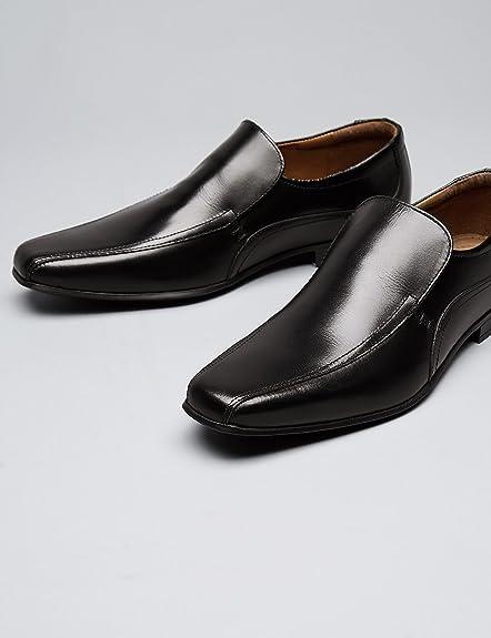 FIND Zapatos Clásicos de Piel para Hombre: Amazon.es: Zapatos y complementos