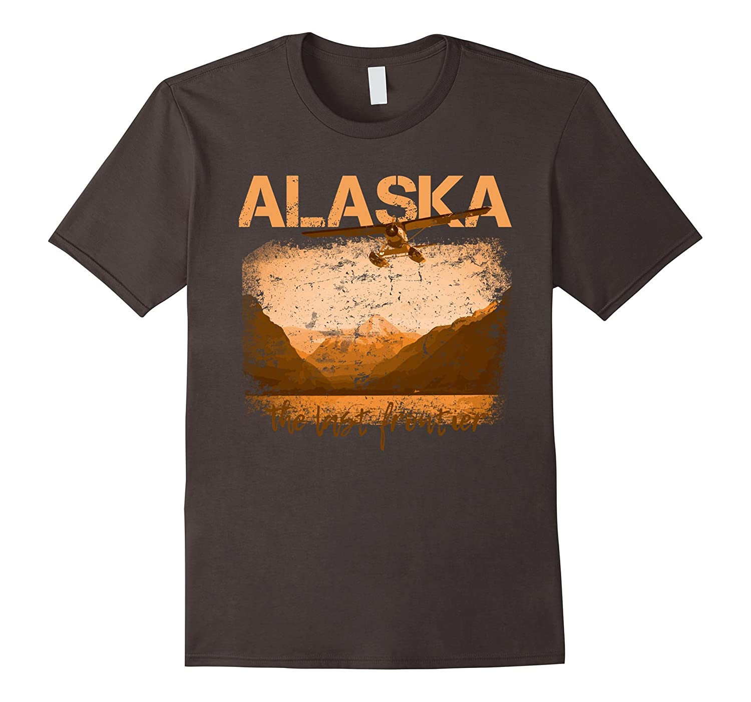 Alaska The Last Frontier With Float Plane T-Shirt