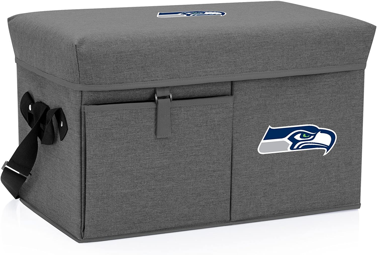 NFL Seattle Seahawks Ottoman Insulated Collapsible Cooler/Picnic Tote