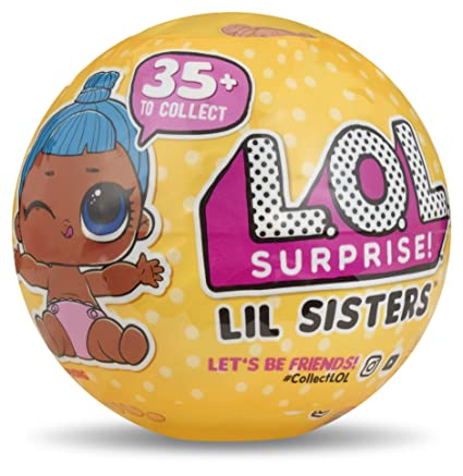 Amazoncom Lol Surprise 550709 Lil Sisters Series 3 Collectible