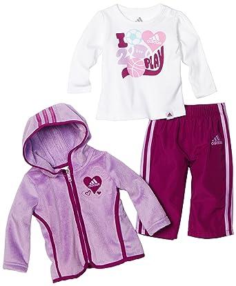 beispiellos moderner Stil modischer Stil adidas Adidas Baby Kinder Mädchen Jogginganzug Sport Jacke + ...