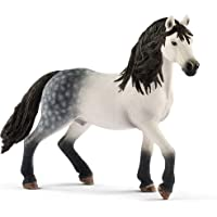 SCHLEICH Horse Club, Animal Figurine, Horse Toys for Girls and Boys 5-12 Years Old, Andalusian Stallion, Multicolor