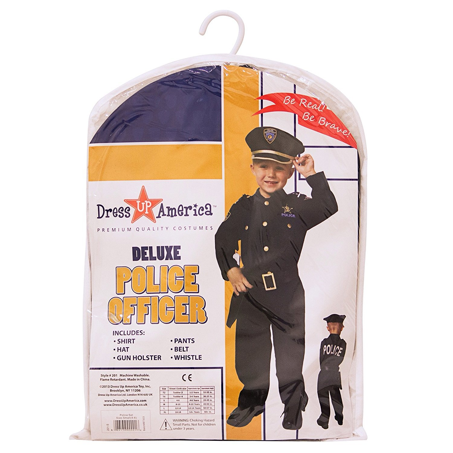 Amazon.com Dress Up America Deluxe Police Dress Up Costume Set - Includes Shirt Pants Hat Belt Whistle Gun Holster and Walkie Talkie (T2)BlueT2 ...  sc 1 st  Amazon.com & Amazon.com: Dress Up America Deluxe Police Dress Up Costume Set ...