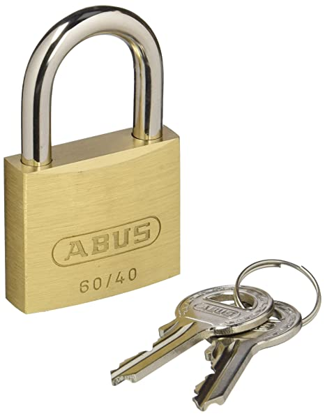 ABUS 223570 - 60/40 KA6047 Brass Padlock 40 mm with
