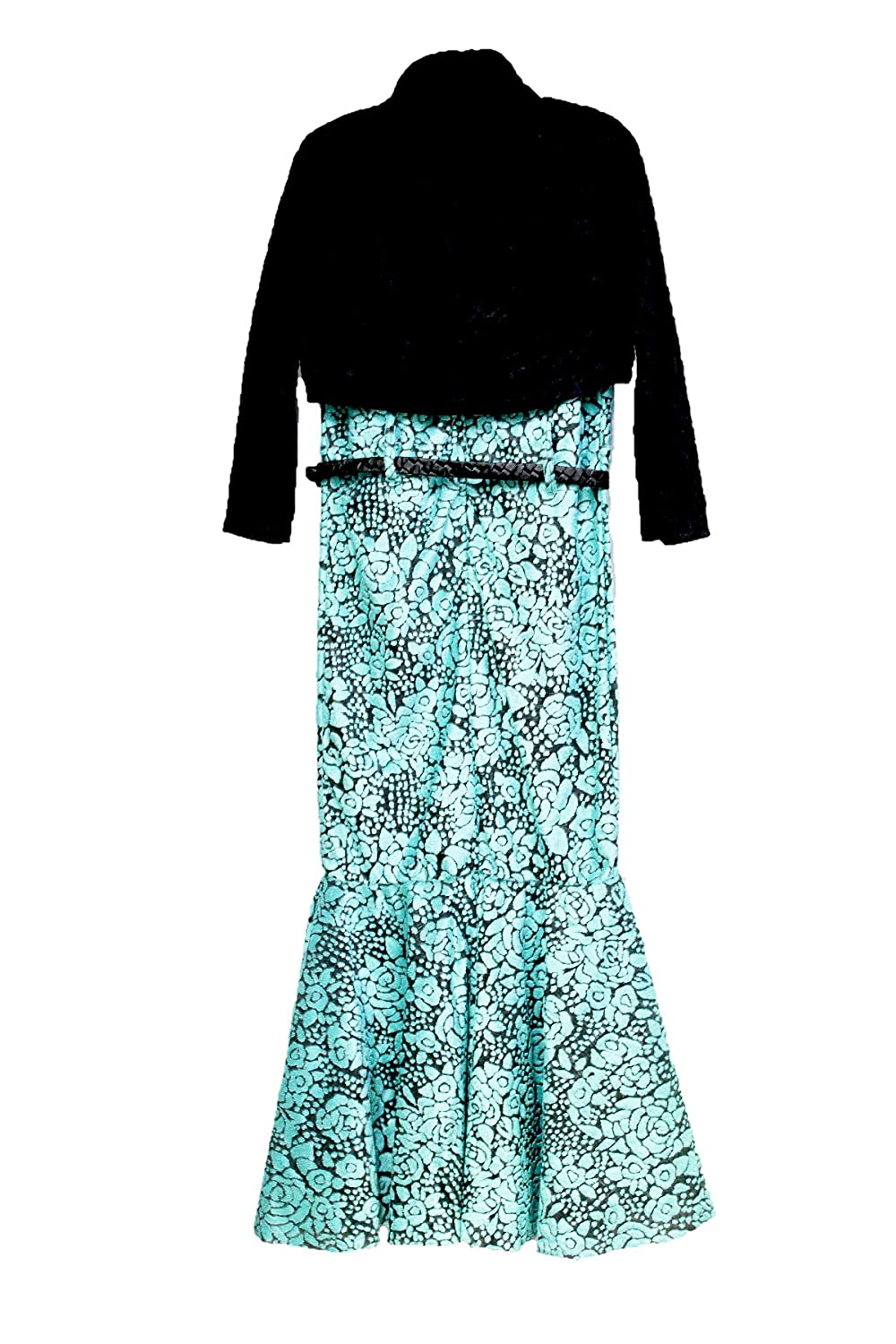 GIRL\'S PARTY DRESS BLUE FISH CUTTING: Amazon.in: Clothing & Accessories