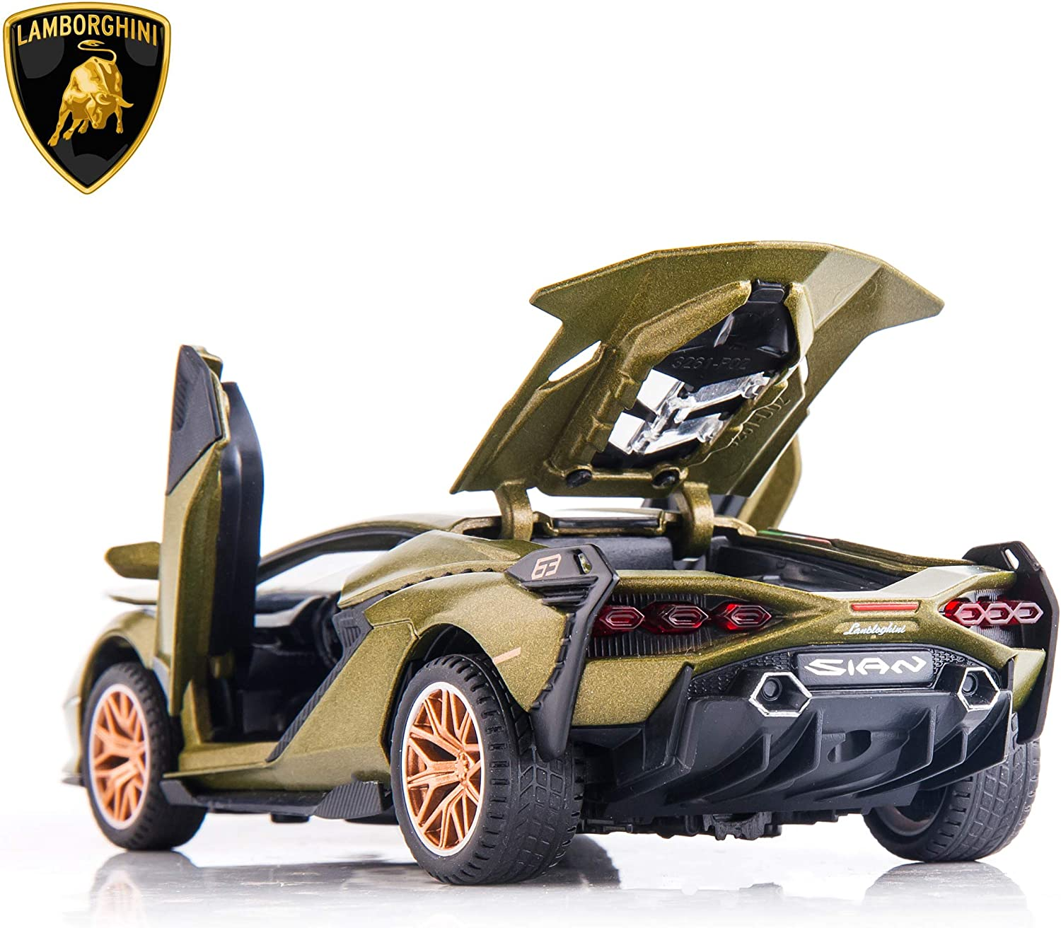 1:32 Lamborghini Sian fkp 37 Alloy Diecast Model Car Toy Collection Gift