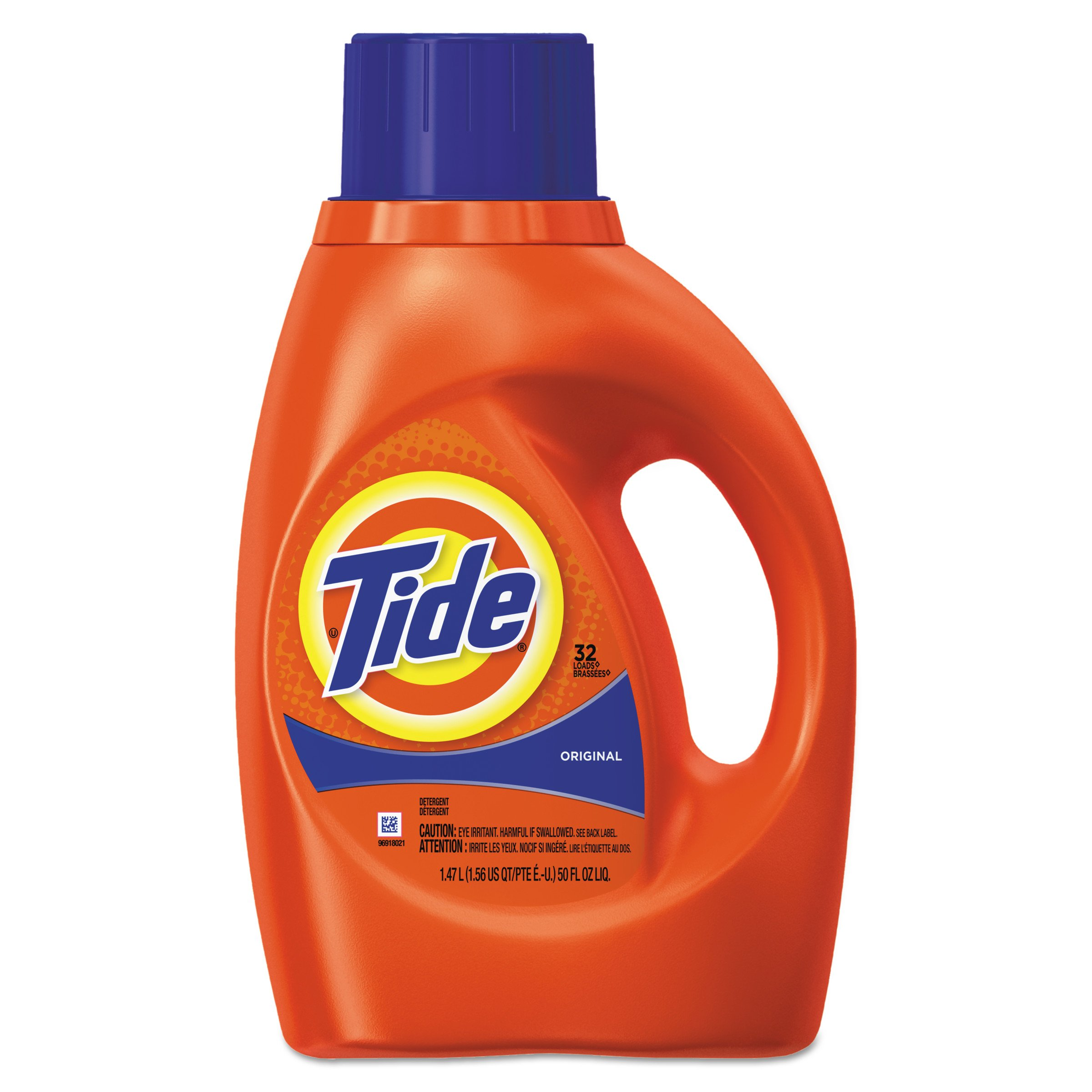 Tide 13878CT Ultra Liquid Tide Laundry Detergent, 32 loads, 50 oz Bottle (Case of 6)