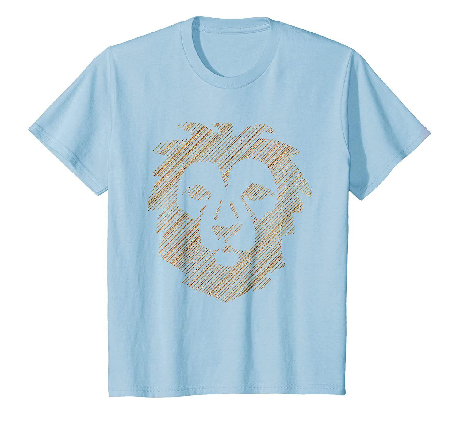 Lion T Shirt (Relaxed Fit Animal Tshirt)
