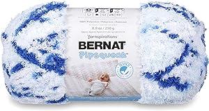 Bernat Pipsqueak Big Ball Yarn, 8.8 oz, Gauge 5 Bulky, Blue Jean Swirl