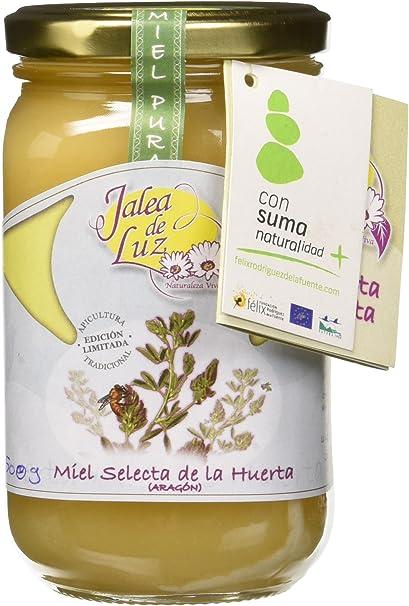 Jalea de Luz Miel Cruda Pura de Alfalfa - 500 gr.: Amazon.es ...