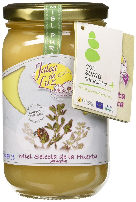 Jalea de Luz Miel Cruda Pura de Alfalfa - 500 gr.: Amazon.es: Alimentación y bebidas