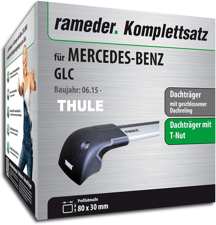 Rameder Komplettsatz 132447-14305-1 Dachtr/äger WingBar Edge f/ür Mercedes-Benz GLC