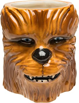 Zak Designs STAB-8515 Star Wars Coffee Mugs Sculpted Ep4 Chewbacca