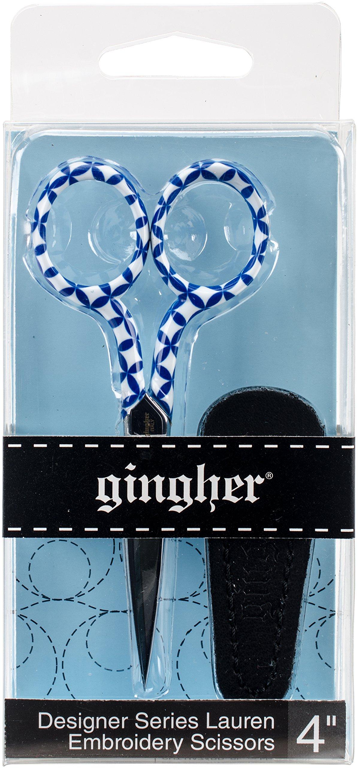 Tijera : Gingher 4 Designer Series Lauren Embroidery Scis...